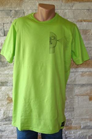 Зеленая мужская футболка от Пул&Бир Испания - Пул&Бир PB0245-cl-XL
