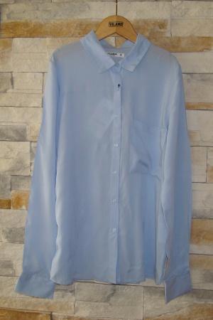Голубая женская рубашка от Пул&Бир - Пул&Бир PB0358-cl-S