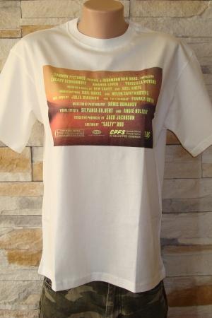 Женская футболка с неоновым принтом от Пул&Бир - Пул&Бир PB0372-cl-M