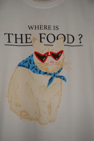 Ультрамодная женская футболка с котом от Пул&Бир - Пул&Бир PB0401-cl-S #2