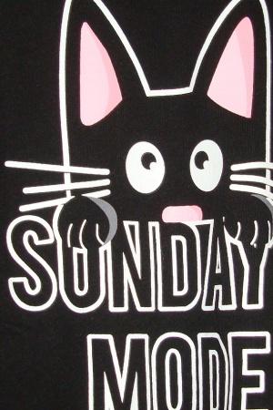 Женская футболка с котом от Пул&Бир - Пул&Бир PB0402-cl-ХS #2