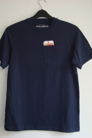 Оригинальная мужская футболка от Пул&Бир - Пул&Бир PB0443-cl-ХS