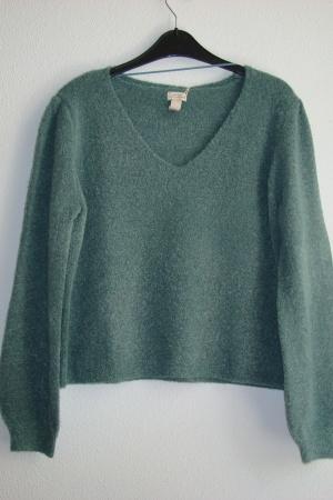 Стильные женские свитера   с V-образным вырезом от Пул&Бир - Пул&Бир PB0472-cl-S