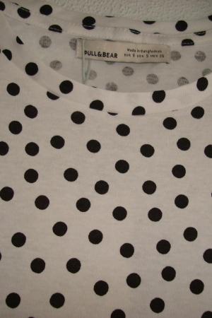 Женская футболка в горошек от Пул&Бир (Испания) - Пул&Бир PB0518-cl-S #2