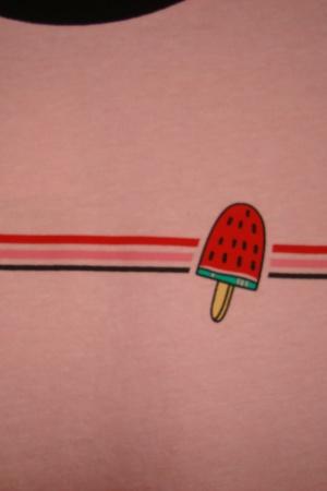 Розовая женская футболка от Пул&Бир  (Испания) - Пул&Бир PB0525-cl-S #2