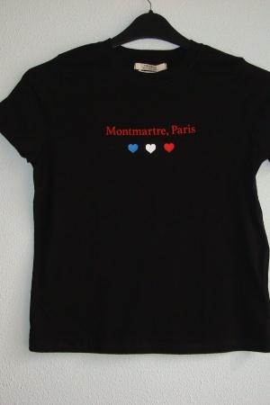Женская футболка с принтом от Пул&Бир (Испания) - Пул&Бир PB0533-cl-S