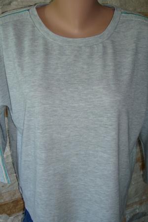 Серый женский реглан Страдивариус (Испания) - Страдивариус Str0280-cl- L