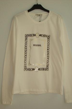 Белый женский реглан от Страдивариус - Страдивариус Str0357-cl-S