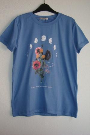 Женская футболка Страдивариус (Испания) - Страдивариус Str0375-cl-S