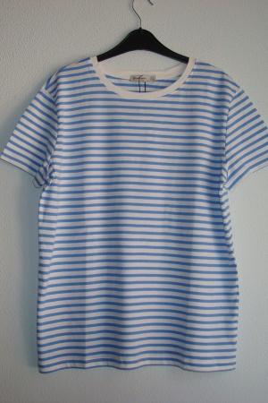 Полосатая женская футболка от Stradivarius (Испания) - Страдивариус Str0376*-cl-L