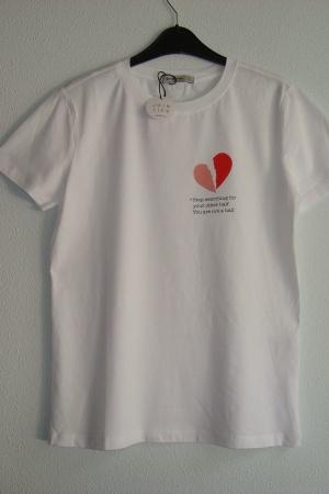 Женская футболка от Страдивариус (Испания) - Страдивариус Str0379-cl-S