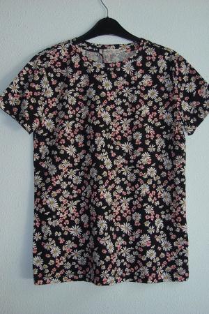 Женская футболка с ромашками от Страдивариус - Страдивариус Str0380-cl-S