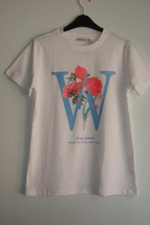 Красивая женская футболка Страдивариус (Испания) - Страдивариус Str0381-cl-S
