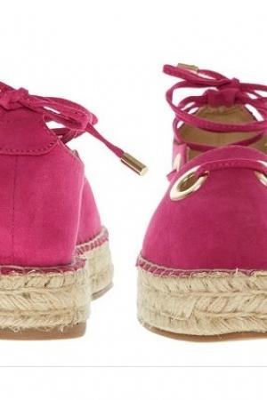 Розовые эспадрильи  от La Strada (Италия) - La Strada TKM0002-sh-37 #2