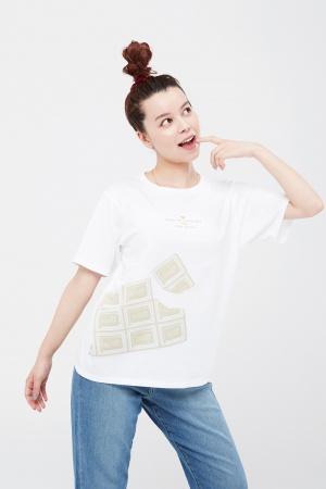 Ультрамодная женская футболка Uniqlo Япония - Uniqlo UN0015-cl-XS #2