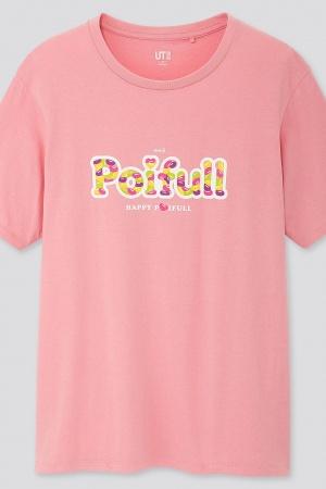 Розовая женская футболка Uniqlo - Uniqlo UN0016-cl-XS