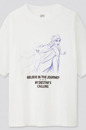 Модная женская футболка от Uniqlo (Япония) - Uniqlo UN0026-cl-XS #2