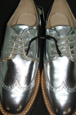 Женские туфли на платформе от Зара (Испания) - Зара ZR0414-sh-39 #2