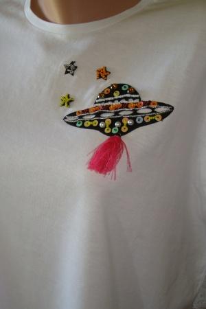 Женская футболка с планетой от Зара - Зара ZR0463-cl-L #2