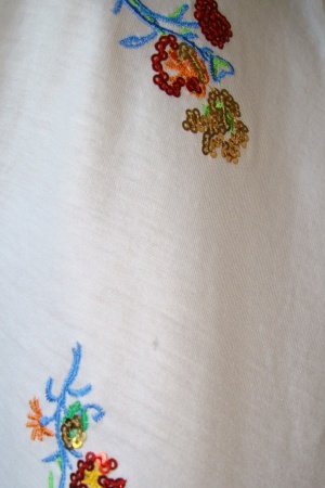 Женская футболка с цветочным принтом от Зара - Зара ZR0465-cl-М #2