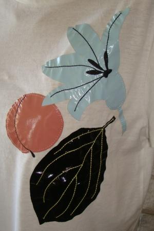 Женская футболка с цветком от Зара - Зара ZR0467-cl-L #2