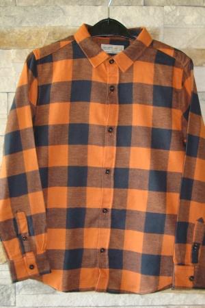 Модная рубашка для мальчика от Зара (Испания) - Зара ZR0476-cl-140