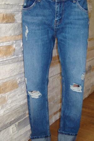 Модные женские джинсы от Зара (Испания) - Зара ZR0496-cl-36