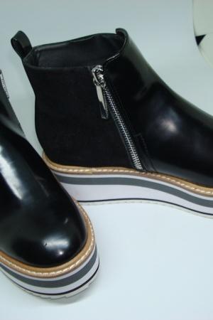 Ботинки женские на платформе Зара (Испания) - Зара ZR0521-sh-36 #2