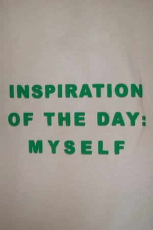 Женская футболка с текстовым принтом от Зара (Испания) - Зара ZR0533-cl-S #2