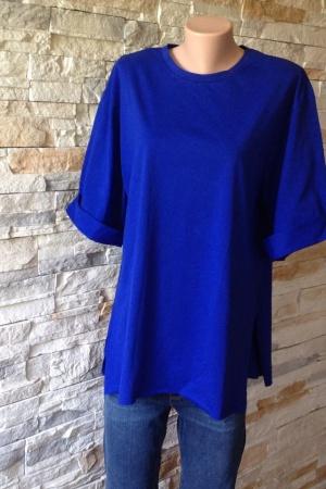 Стильная женская футболка оверсайз от Зара - Зара ZR0549k-cl-S