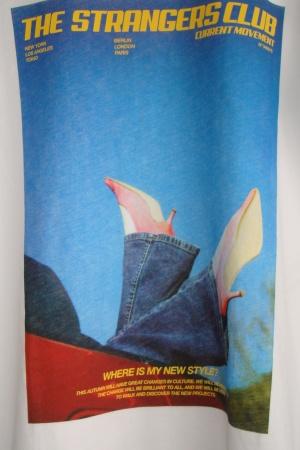 Женская стильная футболка Зара (Испания) - Зара ZR0580-cl-S #2