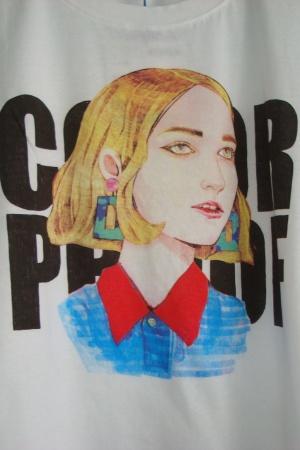 Женская модная футболка с ярким принтом от Зара (Испания) - Зара ZR0586-cl-S #2