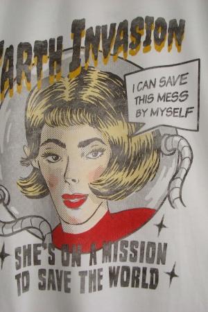 Женская футболка с ярким принтом от  Зара  - Зара ZR0591-cl-S #2