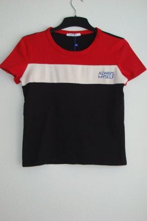 Модная женская футболка от Зара Испания - Зара ZR0605-cl-S