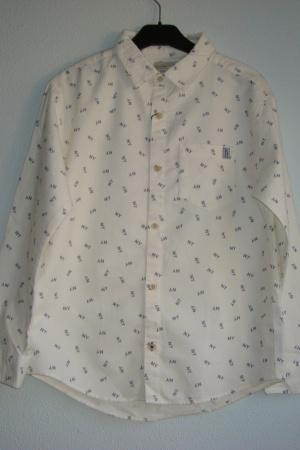 Стильная рубашка для мальчика от Зара Испания - Зара ZR0634-cl-140