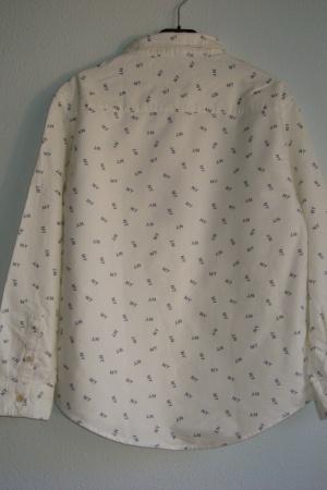 Стильная рубашка для мальчика от Зара Испания - Зара ZR0634-cl-140 #2