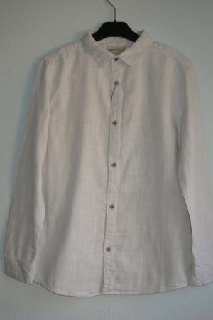 Серая рубашка для мальчика от Зара  - Зара ZR0635-cl-140