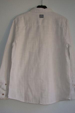 Серая рубашка для мальчика от Зара  - Зара ZR0635-cl-140 #2