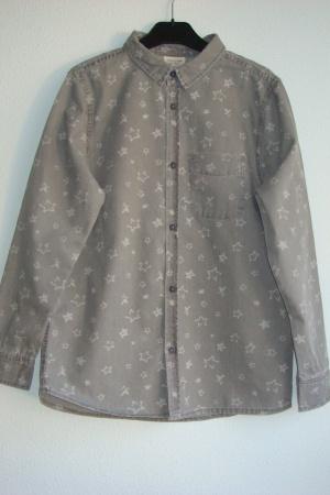 Модная рубашка для мальчика от Зара  - Зара ZR0637-cl-152