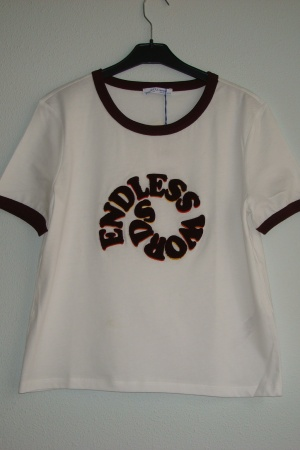 Женская футболка Зара - Испания - Зара ZR0648-cl-М