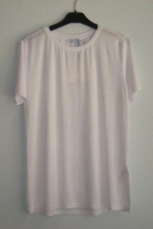 Стильная базовая женская футболка от Зара - Зара ZR0658-cl-L