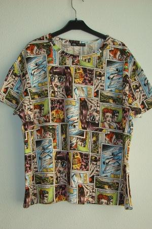 Ультрамодная женская футболка Зара - Зара ZR0660-cl-М