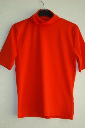 Красная женская футболка Зара Испания - Зара ZR0663-cl-M