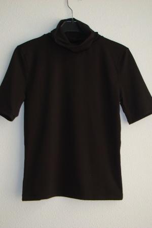Черная женская футболка Зара Испания - Зара ZR0664-cl-S