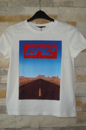 Женская футболка с принтом Зара - Зара ZR0677-cl-L