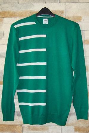 Зеленый мужской свитер от Зара (Испания) - Зара ZR0708-cl-L