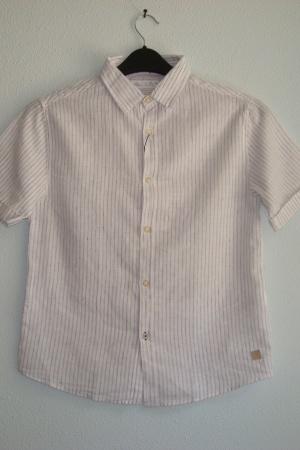 Стильная рубашка для мальчика от Зара Испания - Зара ZR0716-сl-140