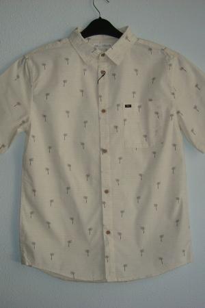 Рубашка для мальчика (с принтом - пальмы)  - Зара ZR0720-cl-164