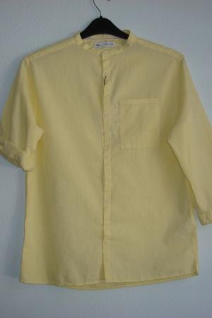 Желтая рубашка для мальчика Зара - Зара ZR0725-cl-164