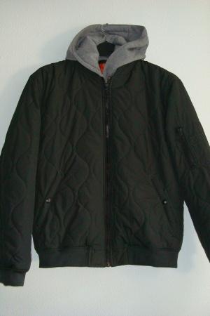 Мужская демисезонная куртка - бомбер от Зара (Испания) - Зара ZR0736-cl-М